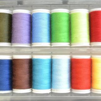 Sytråd Polyester 20 st olika färger