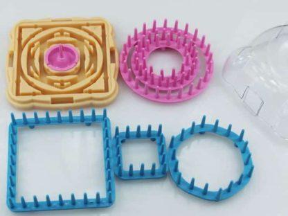N068 - Flower maker - skapa garnblommor